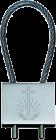 Schlüsselanhänger mit Kirchenemblem