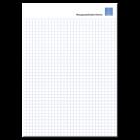 Schreibblock DIN A5, geklebt