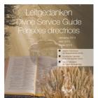 Leitgedanken zum Gottesdienst