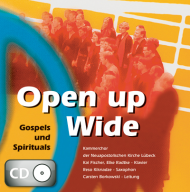 Open up Wide (CD)