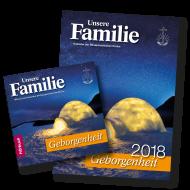 Kalender & Hörbuch 2018 Unsere Familie - Geborgenheit