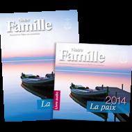 Almanach Notre Famille 2014 inkl. Hörbuch, französisch