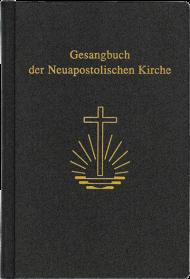 Gesangbuch, Textausgabe, groß 11,1 x 16,8 cm, Leder/ Goldschnitt