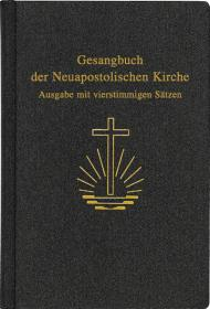 Gesangbuch, Kunstleder Große Ausgabe mit vierst. Sätzen