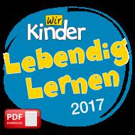 Stundenentwürfe zu Wir Kinder, 2017 (PDF-Download)