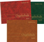 Orgelschule, Band 1-3 Set aus Büchern und CD