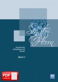 Singt dem Herrn, Band 2 (PDF-Notensammlung)