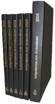Leitgedanken zum Gottesdienst Jahrgangsband 2011