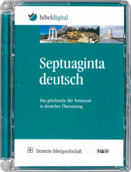 Septuaginta deutsch (CD-ROM)