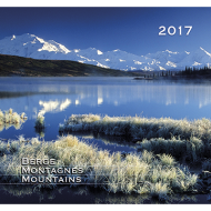 Berge - Montagnes - Mountains 2017 Kalender