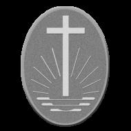 Manschettenknöpfe, 2er Packung mit Kirchenemblem