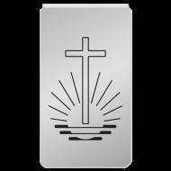 Büroklammern, 10er Packung mit Kirchenemblem