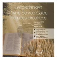 Leitgedanken zum Gottesdienst Jahrgang 2014 (CD-ROM)