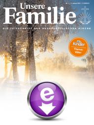 Unsere Familie 2021, eMagazin (Einzelausgaben)