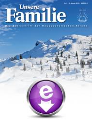 Unsere Familie, 2018, eMagazin (Einzelausgaben)