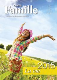 Almanach Notre Famille 2015 französisch