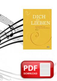 Dich zu lieben, Band 1 Oberstimmenauszug Alt (PDF)