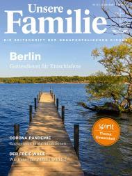 Unsere Familie, 2020, Ausgabe 12 + spirit, Thema: Einsamkeit