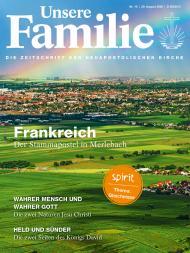 Unsere Familie, 2020, Ausgabe 16 + spirit, Thema: Gleichnisse