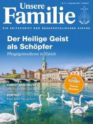 Unsere Familie, 2021, Ausgabe 17 + Wir Kinder, Thema: Glauben