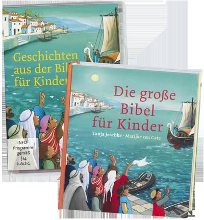 Die große Bibel für Kinder & Geschichten aus der Bibel ...