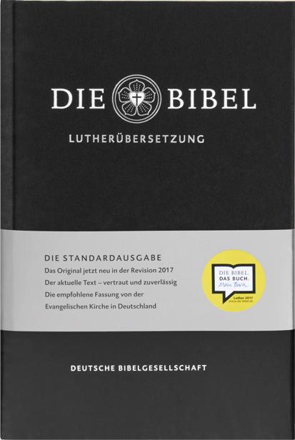 Lutherbibel, revidiert 2017 Standardausgabe, mit Apokryphen