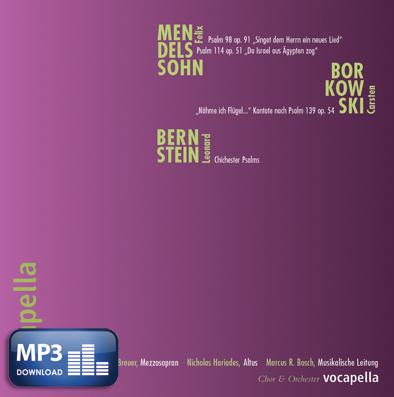 Psalmenvertonungen (MP3-Album)