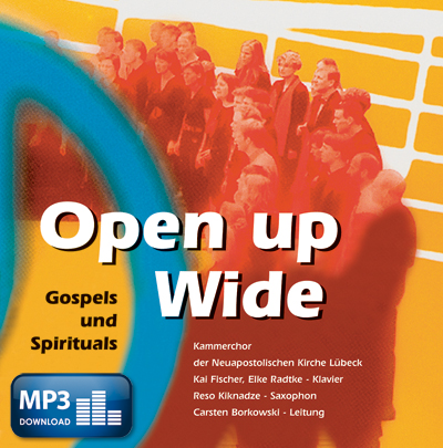 Open up Wide (MP3-Album)