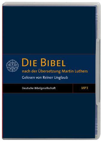 Die Bibel - Gelesen von R. Unglaub MP3-CD (CD)