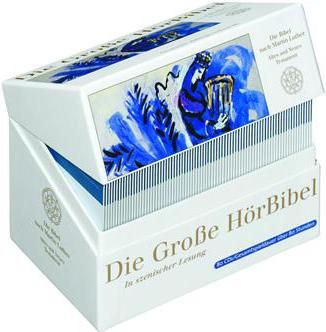Die Große HörBibel, Gesamtausgabe Hörbuch, 80 Audio-CDs (CD)