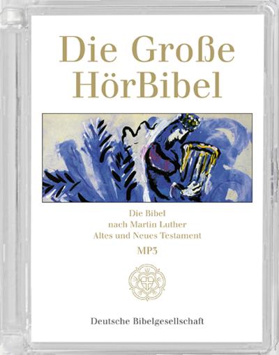 Die Große HörBibel, Gesamtausgabe Hörbuch, 8 MP3-CDs (CD)