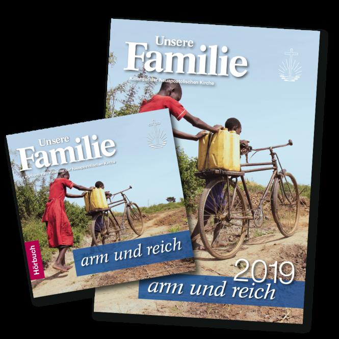 Kalender & Hörbuch 2019 Unsere Familie - arm und reich