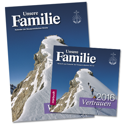 Kalender & Hörbuch 2016 Unsere Familie