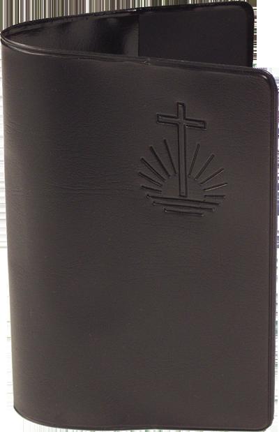 Gesangbuch, 4stg klein, SCHUTZHÜLLE Schwarz, 27,1 x 17,6 cm (B x H)