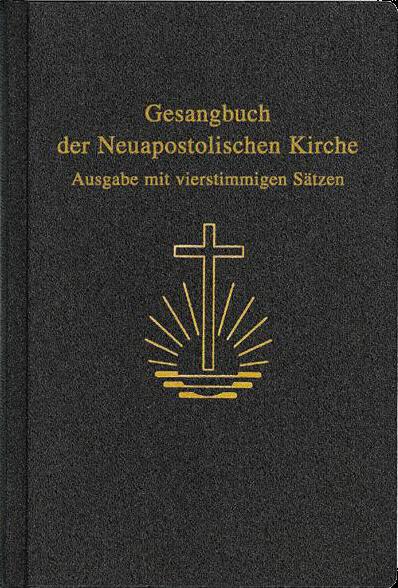 Gesangbuch, 4stimmige Sätze, klein 11,6 x 16,8 cm, Kunstleder