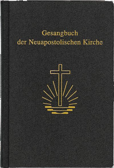 Gesangbuch, Textausgabe, klein 8,5 x 13 cm, Leder/ Goldschnitt