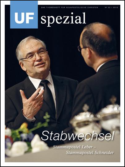 UF spezial, Ausgabe 02/2013 Thema: Stabwechsel