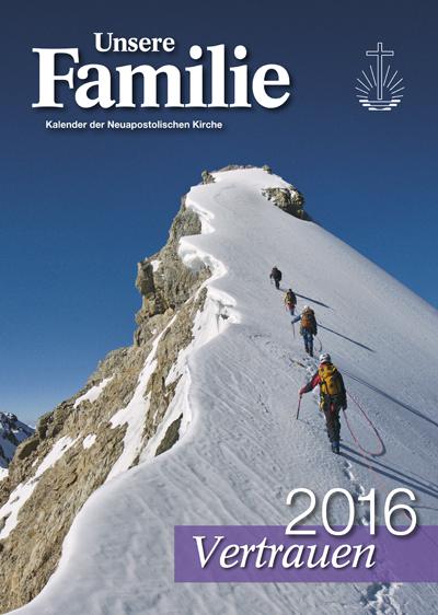 Kalender Unsere Familie 2016