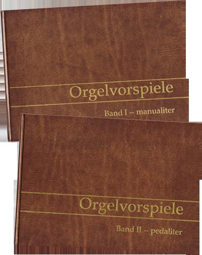 Orgelvorspiele Set aus Band 1 und 2