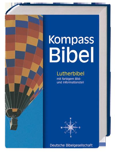 Kompass Bibel Lutherbibel 84 mit farbigem Bild-…