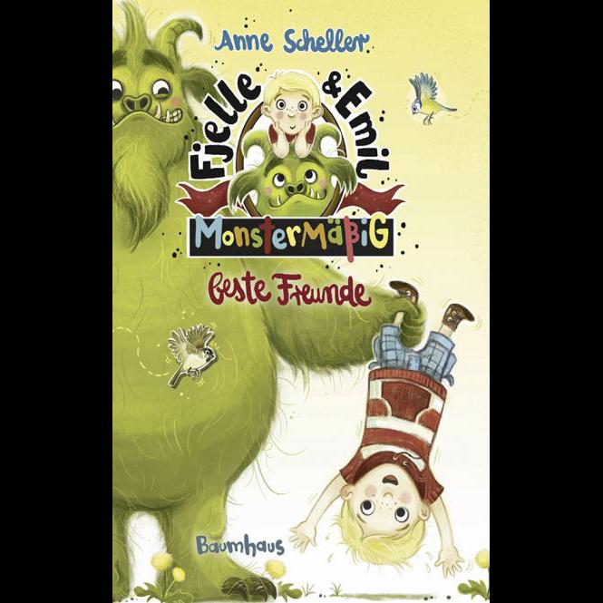 Fjelle und Emil Monstermäßig beste Freunde, Bd. 1