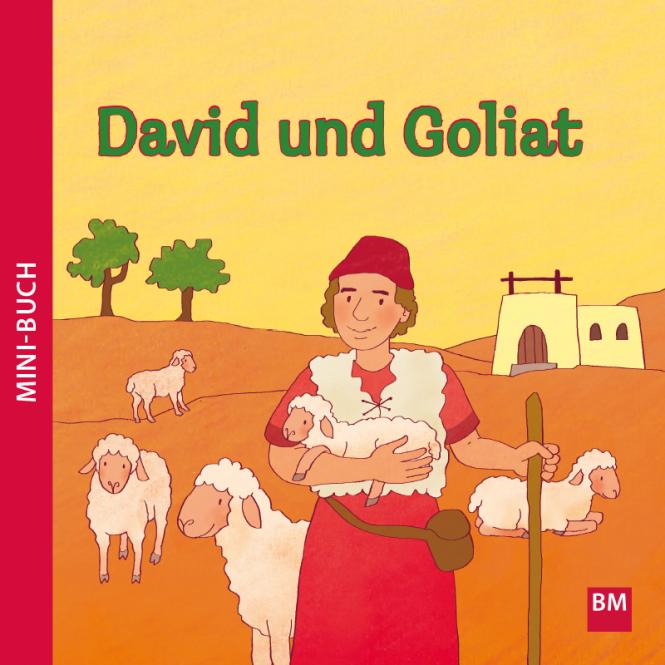 David und Goliat Mini-Buch