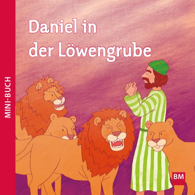 Daniel in der Löwengrube Mini-Buch