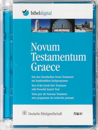 Novum Testamentum Graece (CD-ROM)