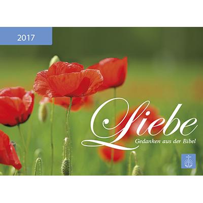 Liebe 2017 Kalender