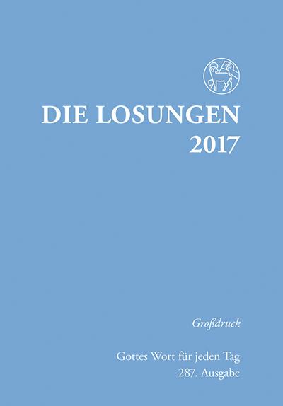 Die Losungen 2017 Großdruck