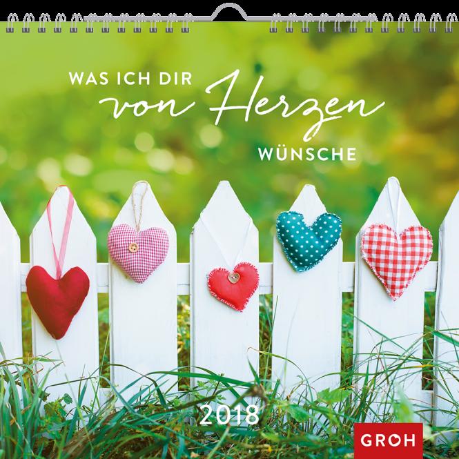 Was ich dir von Herzen wünsche 2018 Geschenkkalender