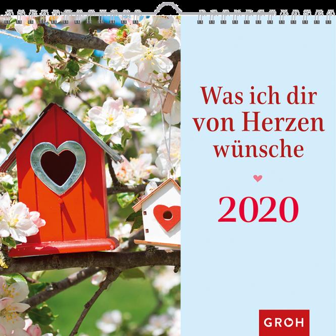 Was ich dir … 2020 Was ich dir von Herzen wünsche
