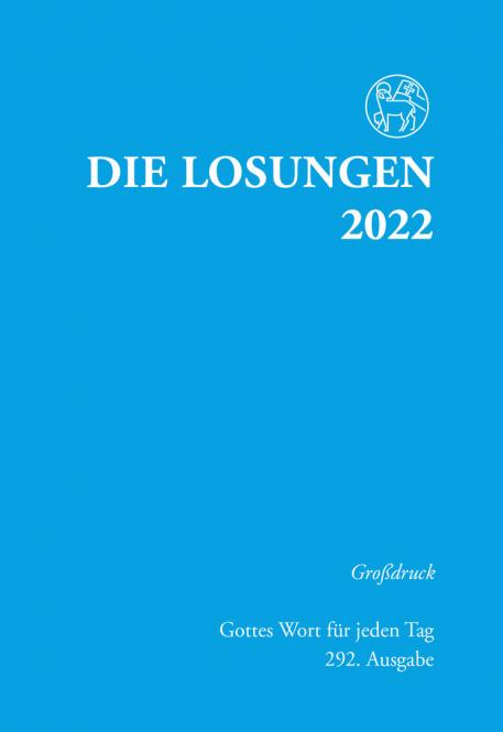 Die Losungen 2022 Großdruck