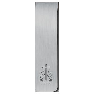 Magnetisches Lesezeichen mit Kirchenemblem